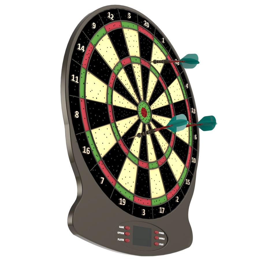Dart oyunu royalty-free 3d model - Preview no. 1