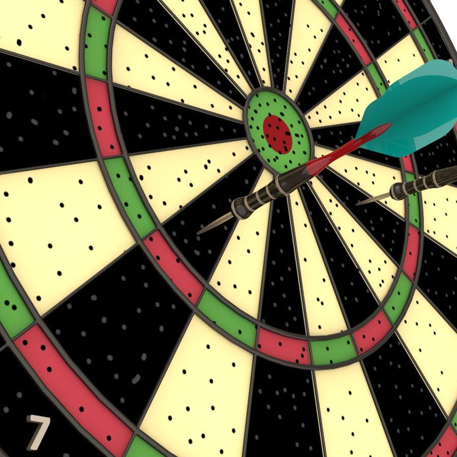 Dart oyunu royalty-free 3d model - Preview no. 7