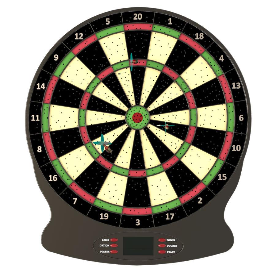 Dart oyunu royalty-free 3d model - Preview no. 2