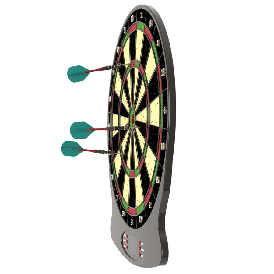 Dart oyunu royalty-free 3d model - Preview no. 5