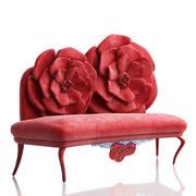 Sofá La Rose modelo 3d