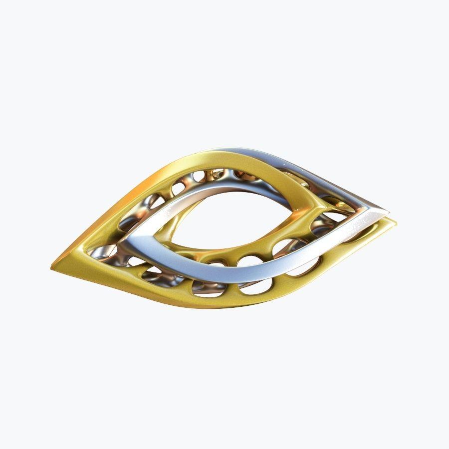 Œil royalty-free 3d model - Preview no. 5