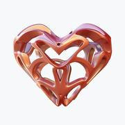 愛の心07 3d model
