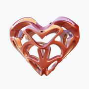 miłość serca 07 3d model