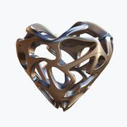 Coração do amor 05 3d model