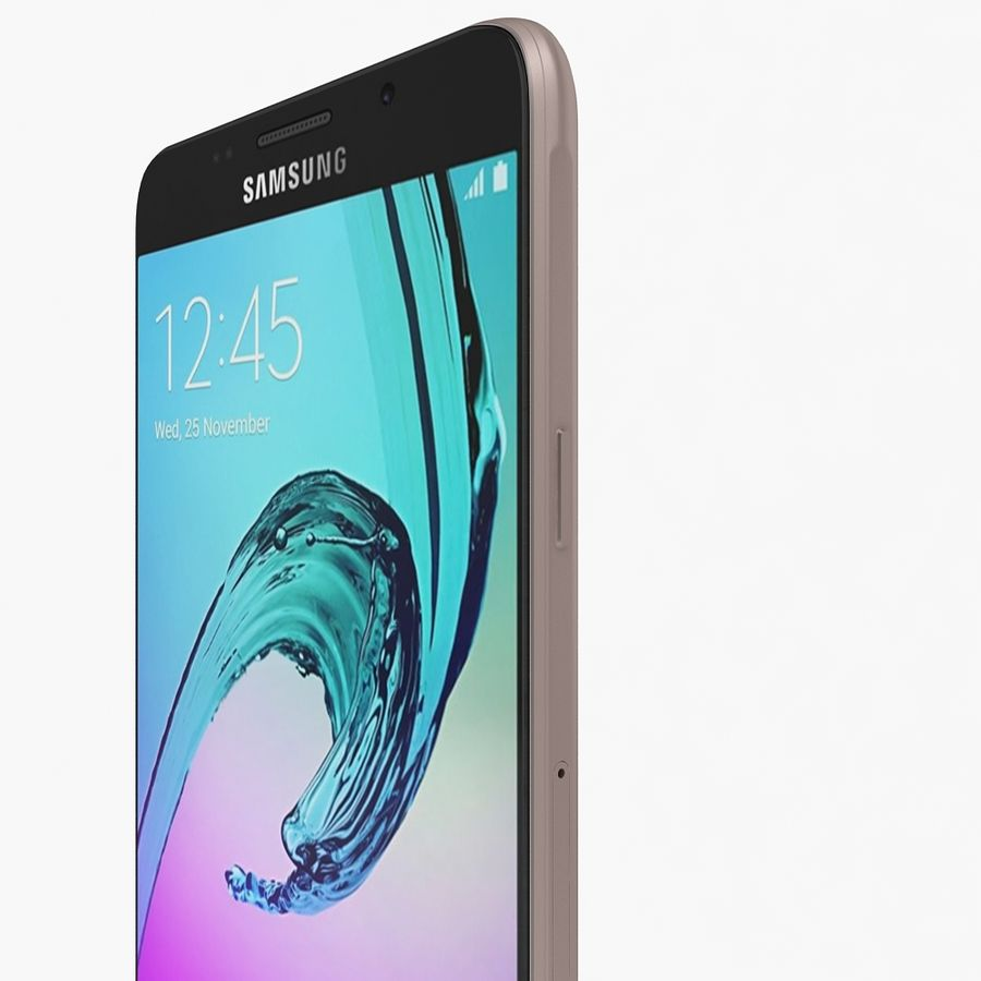 Samsung Galaxy A5 2016 Rosa royalty-free 3d model - Preview no. 9
