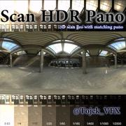 Scan HDR pano Interior Warehouse 3d model