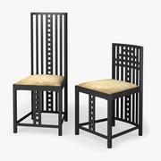 Blackie Desk Chair 3d model