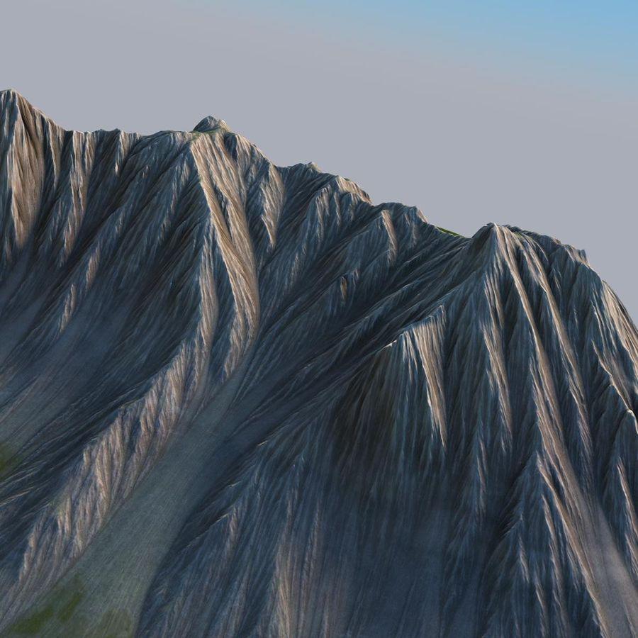 Berglandskap royalty-free 3d model - Preview no. 19