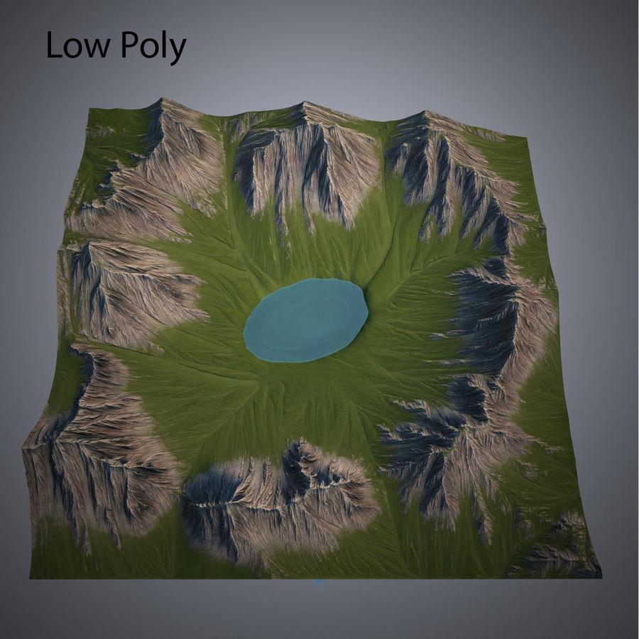 Mountain Landscape royalty-free 3d model - Preview no. 19