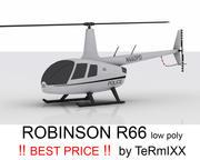 Robinson R66 POLICE 3d model
