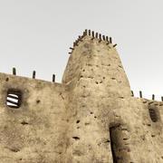 Fortaleza de argila 3d model