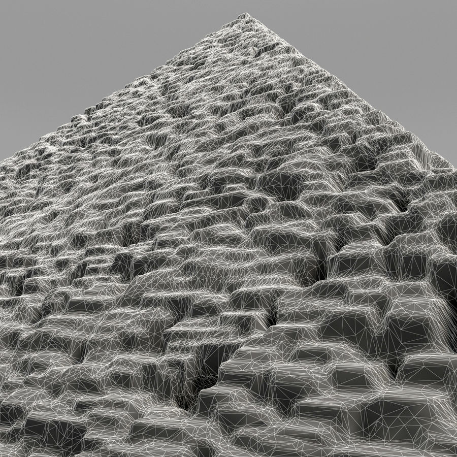 pyramid royalty-free 3d model - Preview no. 9