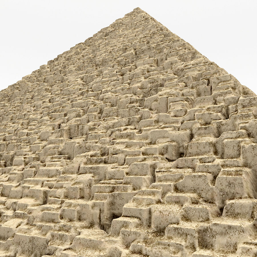 pyramid royalty-free 3d model - Preview no. 6
