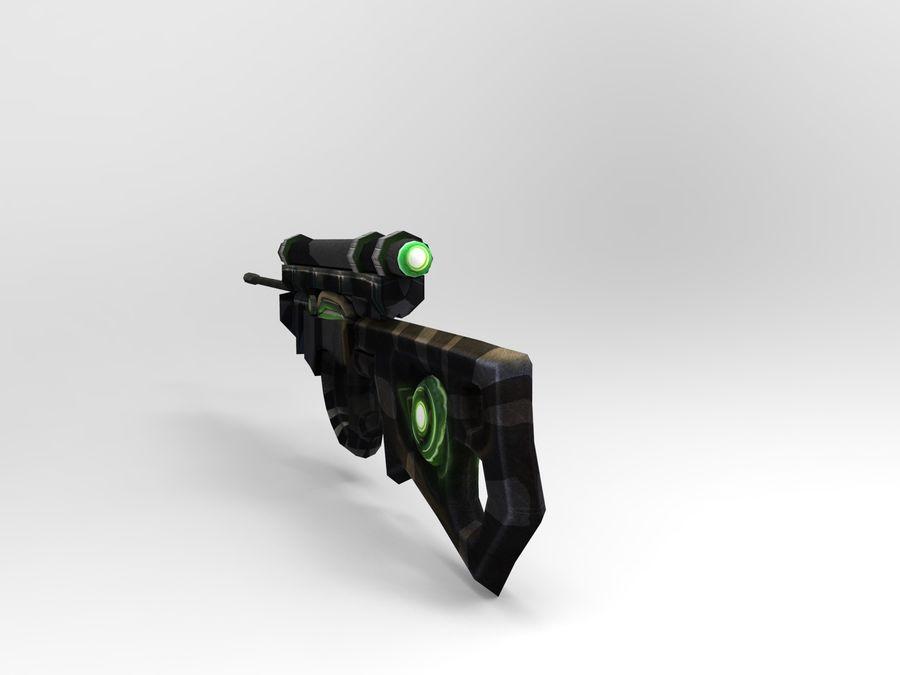 arma moderna royalty-free modelo 3d - Preview no. 5