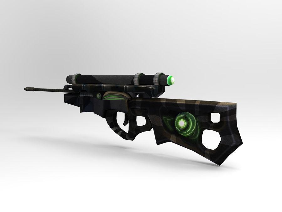 arma moderna royalty-free modelo 3d - Preview no. 6