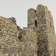 Ruins fortress 3d model