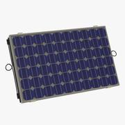 Painel solar 4 3d model