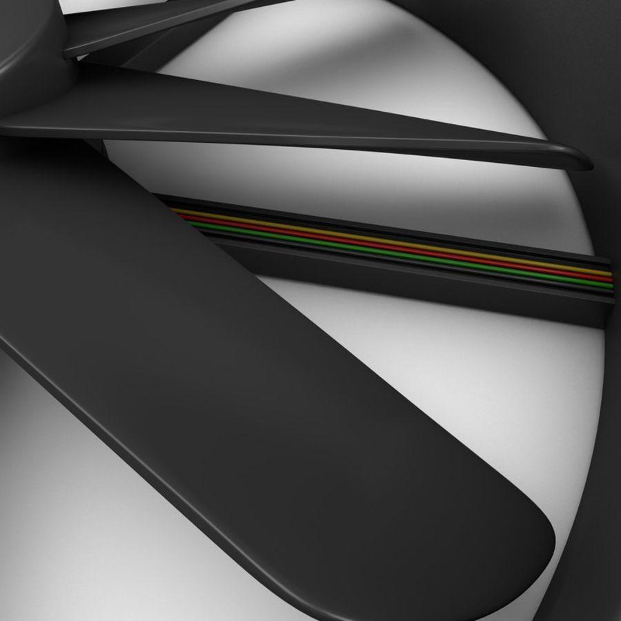 CPU fan royalty-free 3d model - Preview no. 7