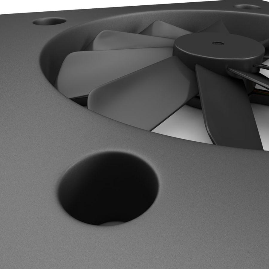 CPU fan royalty-free 3d model - Preview no. 4