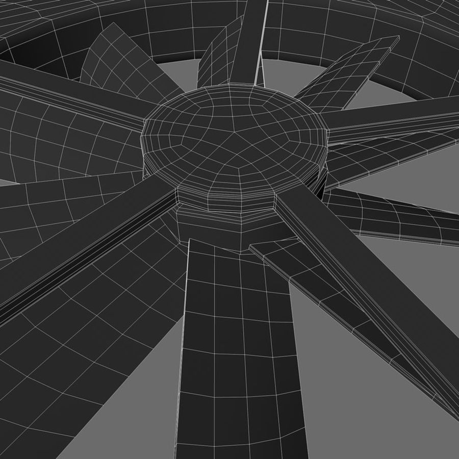 CPU fan royalty-free 3d model - Preview no. 14