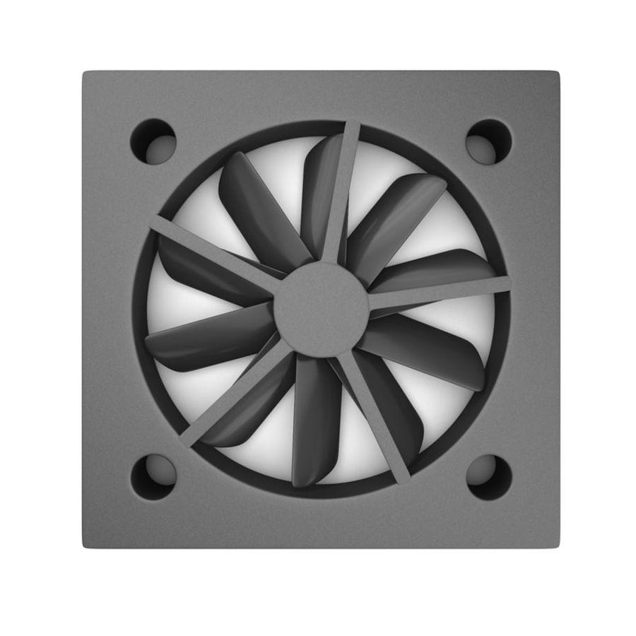 CPU fan royalty-free 3d model - Preview no. 10