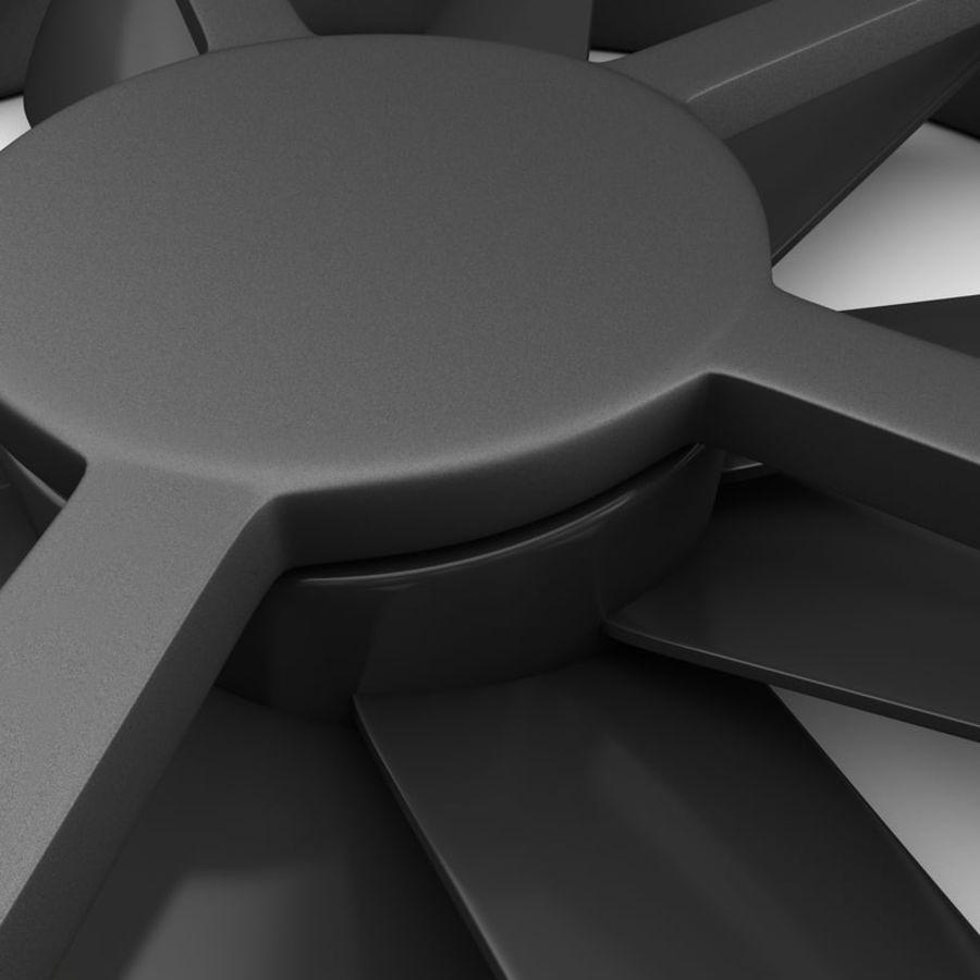 CPU fan royalty-free 3d model - Preview no. 9