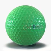 Golfbollgrön 3D-modell 3d model