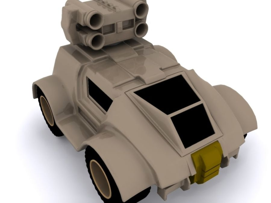 Military concept car royalty-free 3d model - Preview no. 1