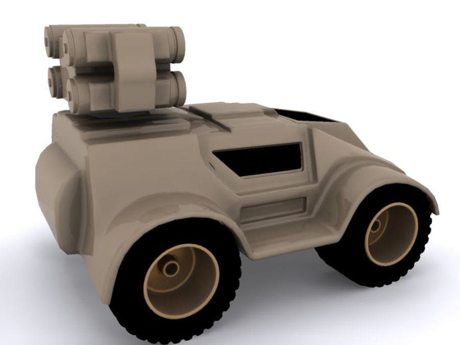 Military concept car royalty-free 3d model - Preview no. 5
