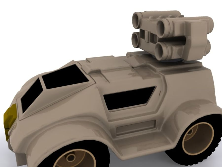 Military concept car royalty-free 3d model - Preview no. 6