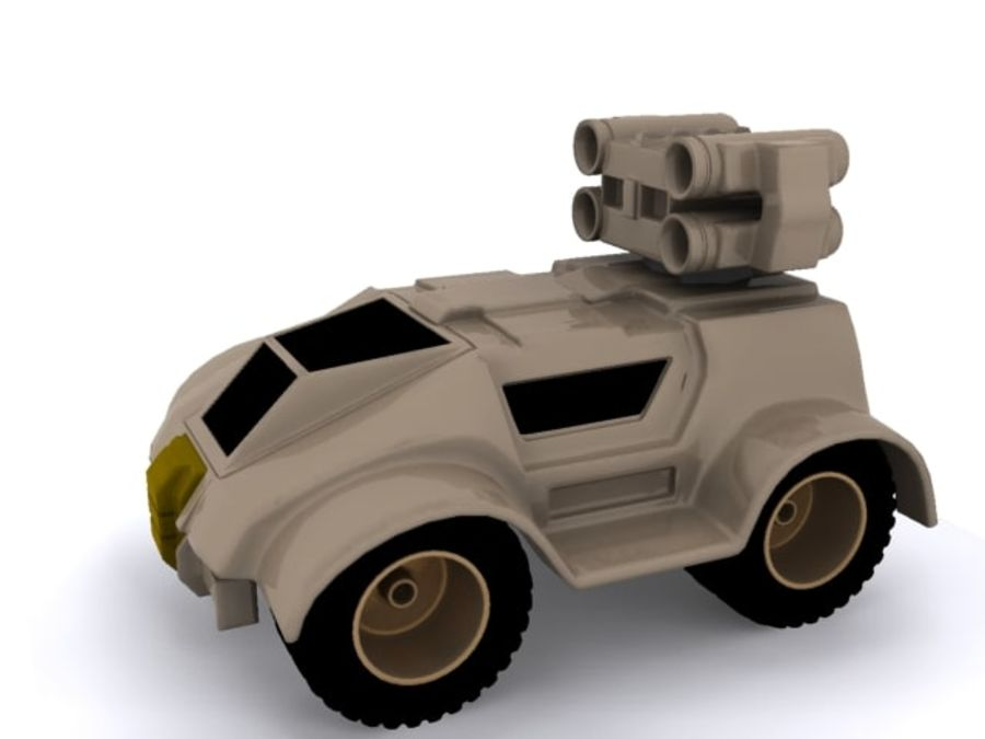 Military concept car royalty-free 3d model - Preview no. 2