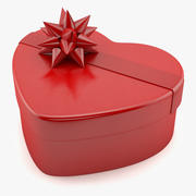 Heart Shaped Box 3d model