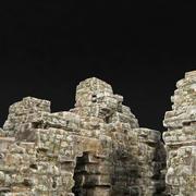 Ruins castle 3d model