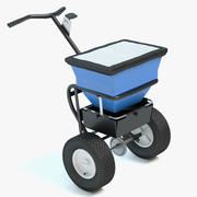 Winter Salt Spreader 3d model