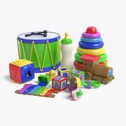 игрушки 3d model