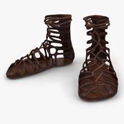 Roman Sandals 3d model