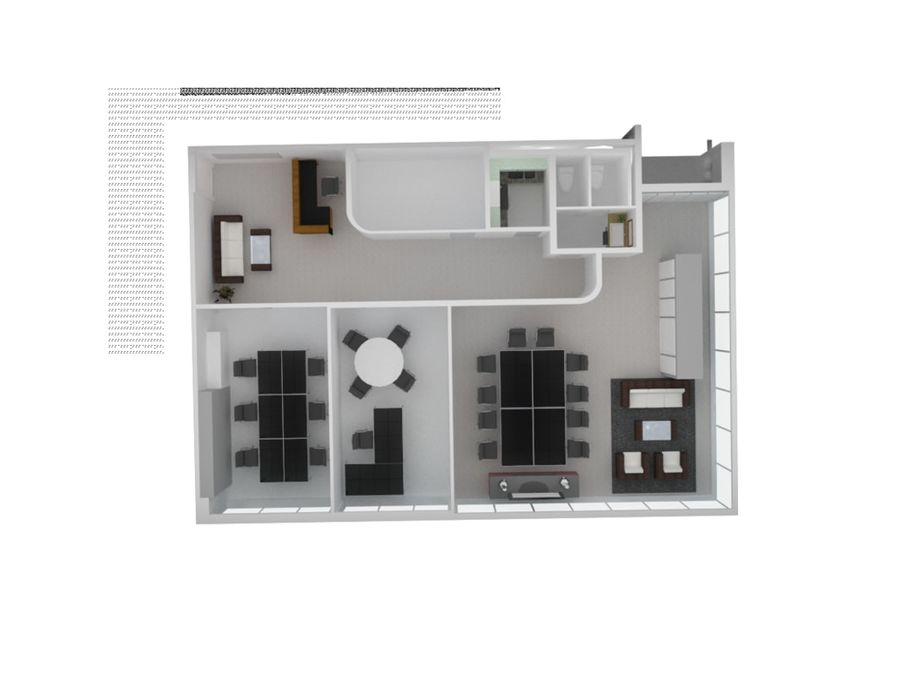 Gabinet royalty-free 3d model - Preview no. 1
