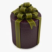 Geschenk zylindrische Box 3d model
