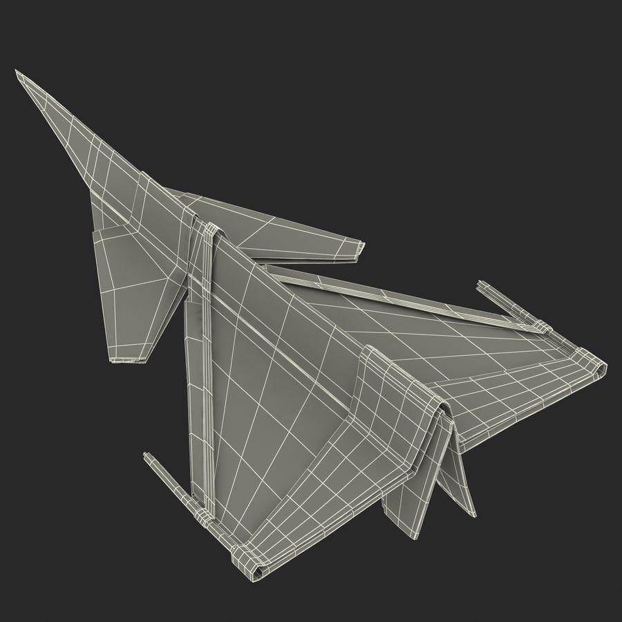 Paper Plane 4 Modèle 3D royalty-free 3d model - Preview no. 21