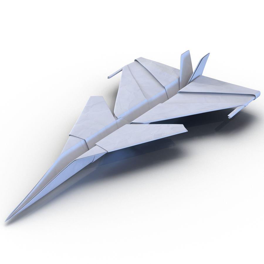 Paper Plane 4 Modèle 3D royalty-free 3d model - Preview no. 2