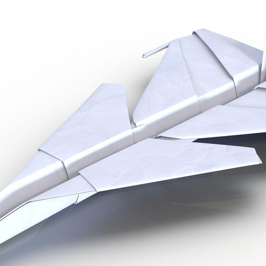 Paper Plane 4 Modèle 3D royalty-free 3d model - Preview no. 13