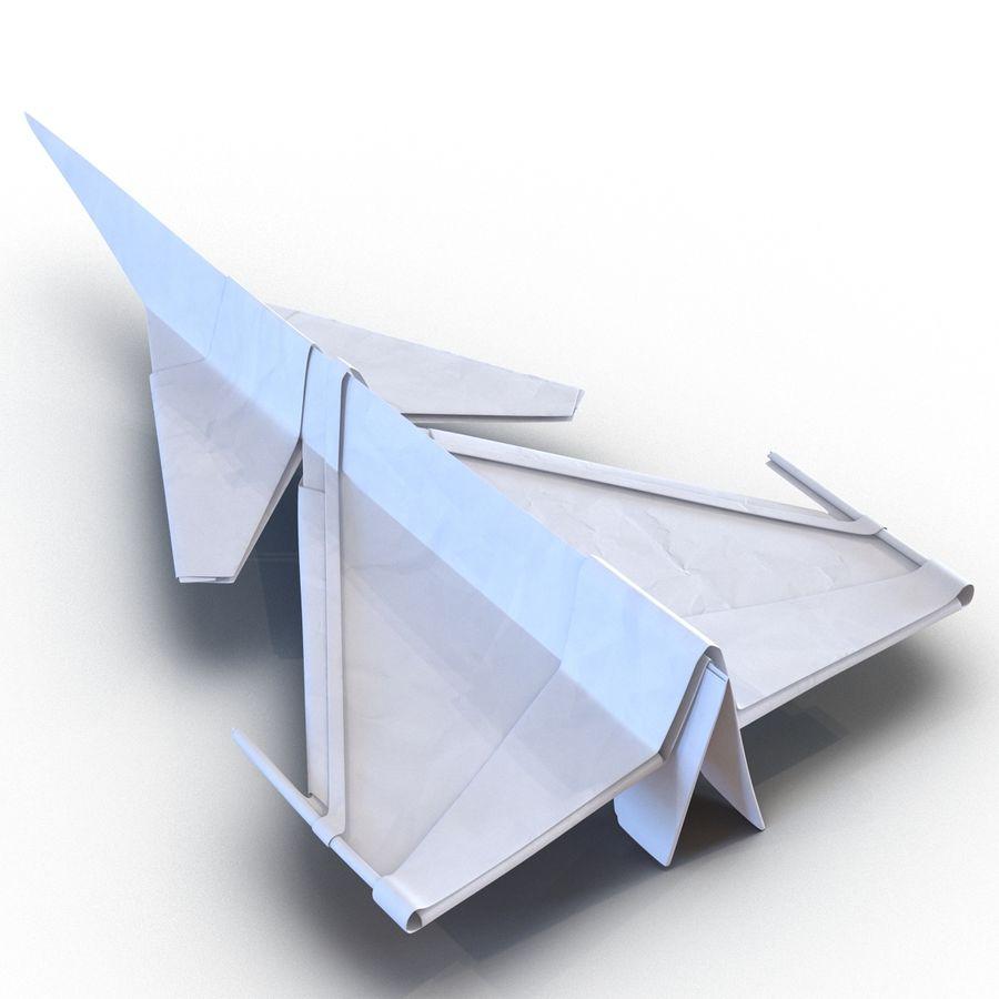 Paper Plane 4 Modèle 3D royalty-free 3d model - Preview no. 8
