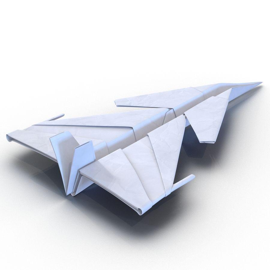 Paper Plane 4 Modèle 3D royalty-free 3d model - Preview no. 3