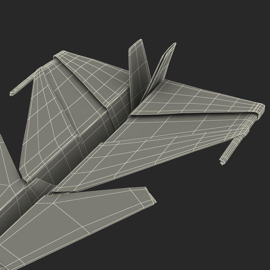 Paper Plane 4 Modèle 3D royalty-free 3d model - Preview no. 24