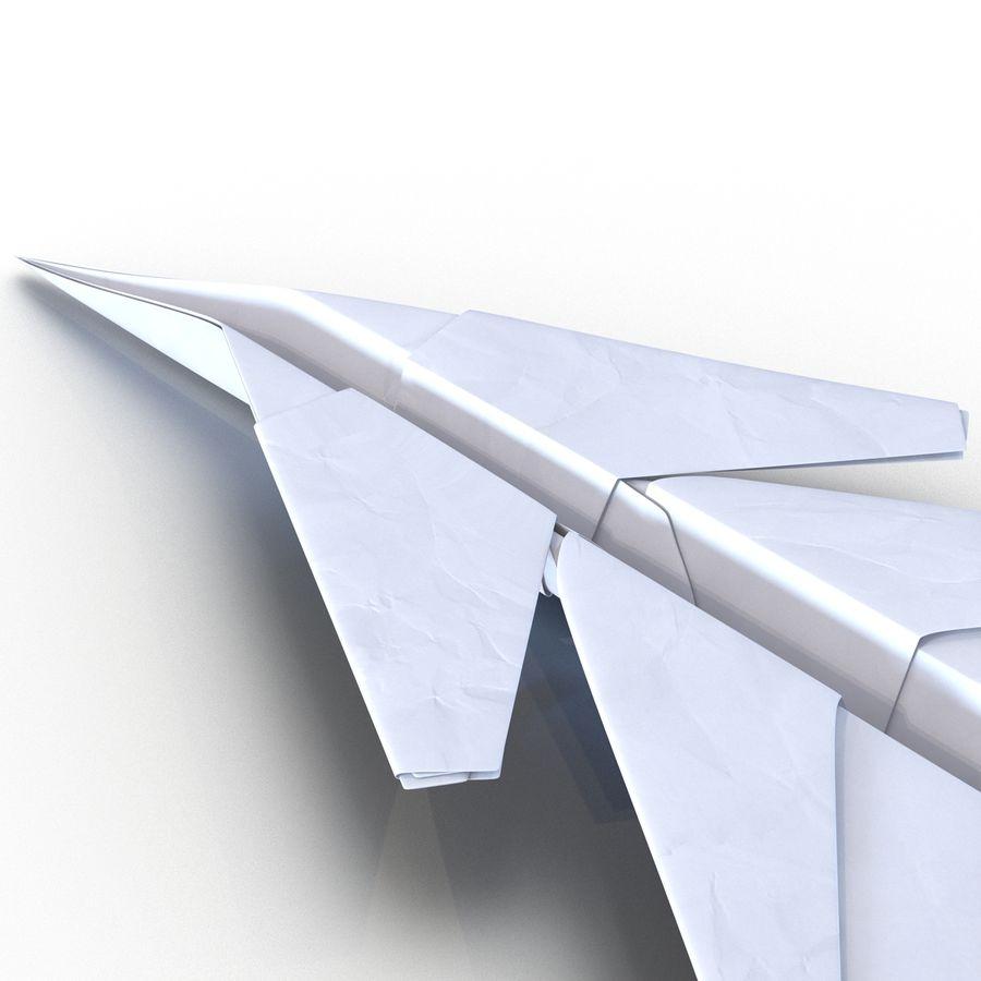 Paper Plane 4 Modèle 3D royalty-free 3d model - Preview no. 10