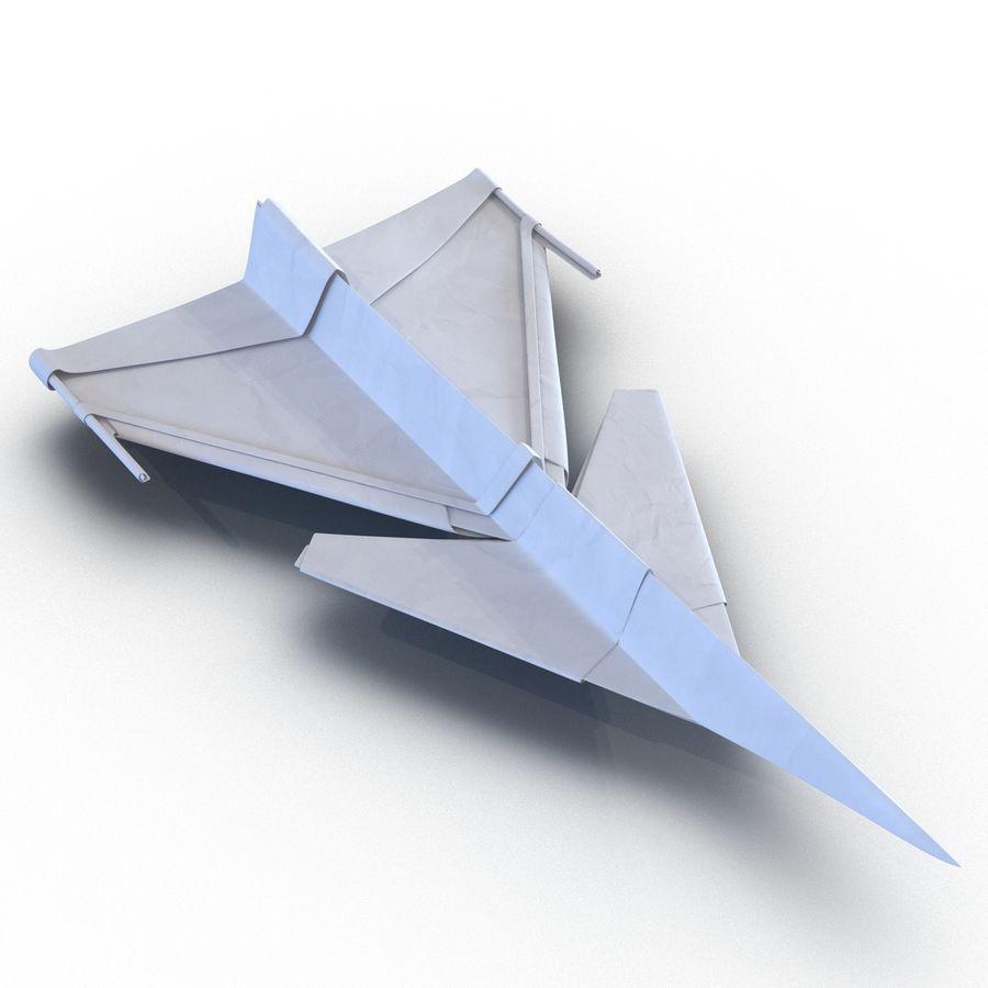 Paper Plane 4 Modèle 3D royalty-free 3d model - Preview no. 7