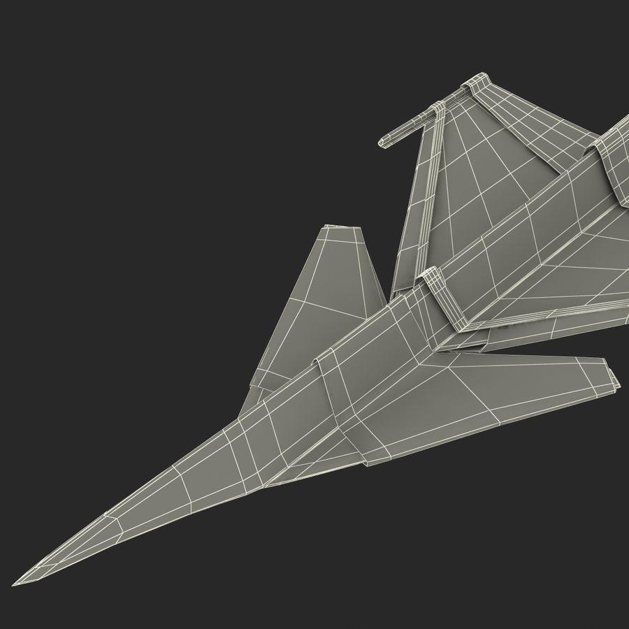 Paper Plane 4 Modèle 3D royalty-free 3d model - Preview no. 22