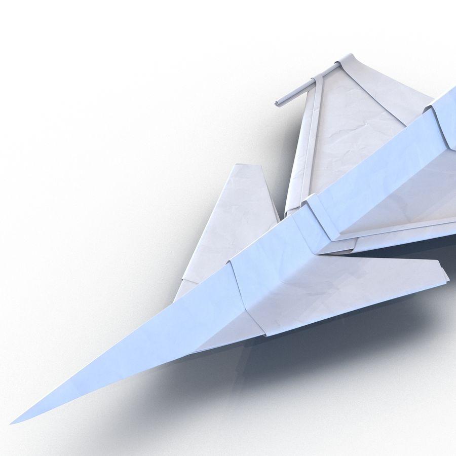 Paper Plane 4 Modèle 3D royalty-free 3d model - Preview no. 9