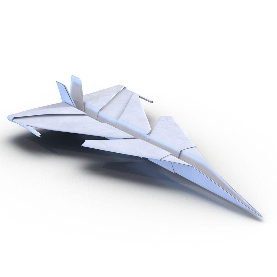 Paper Plane 4 Modèle 3D royalty-free 3d model - Preview no. 6